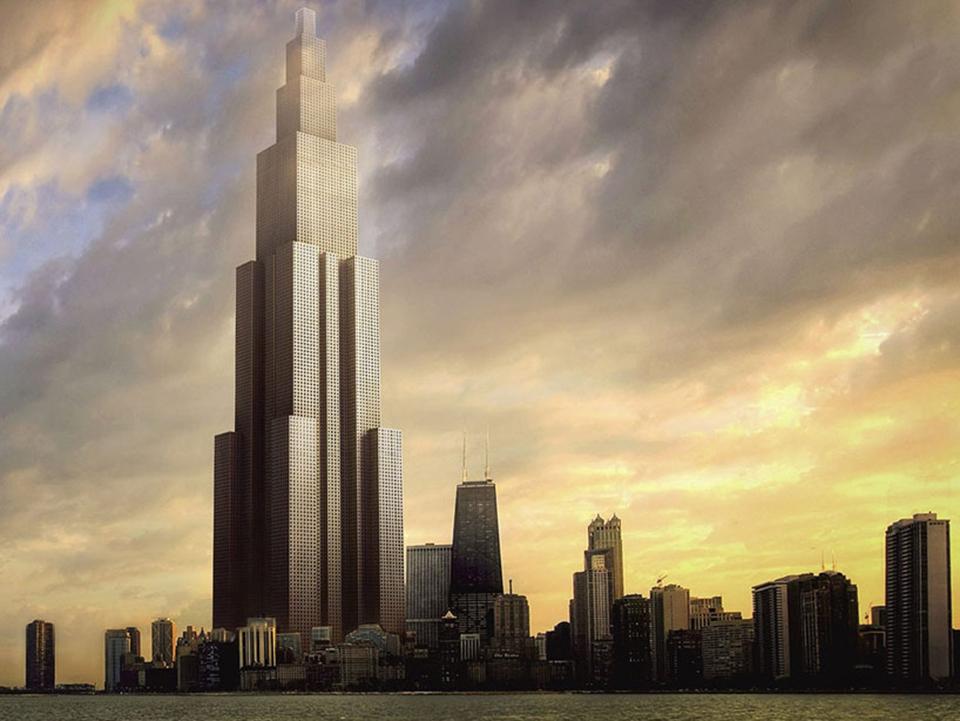 edificio nuevo mundo: