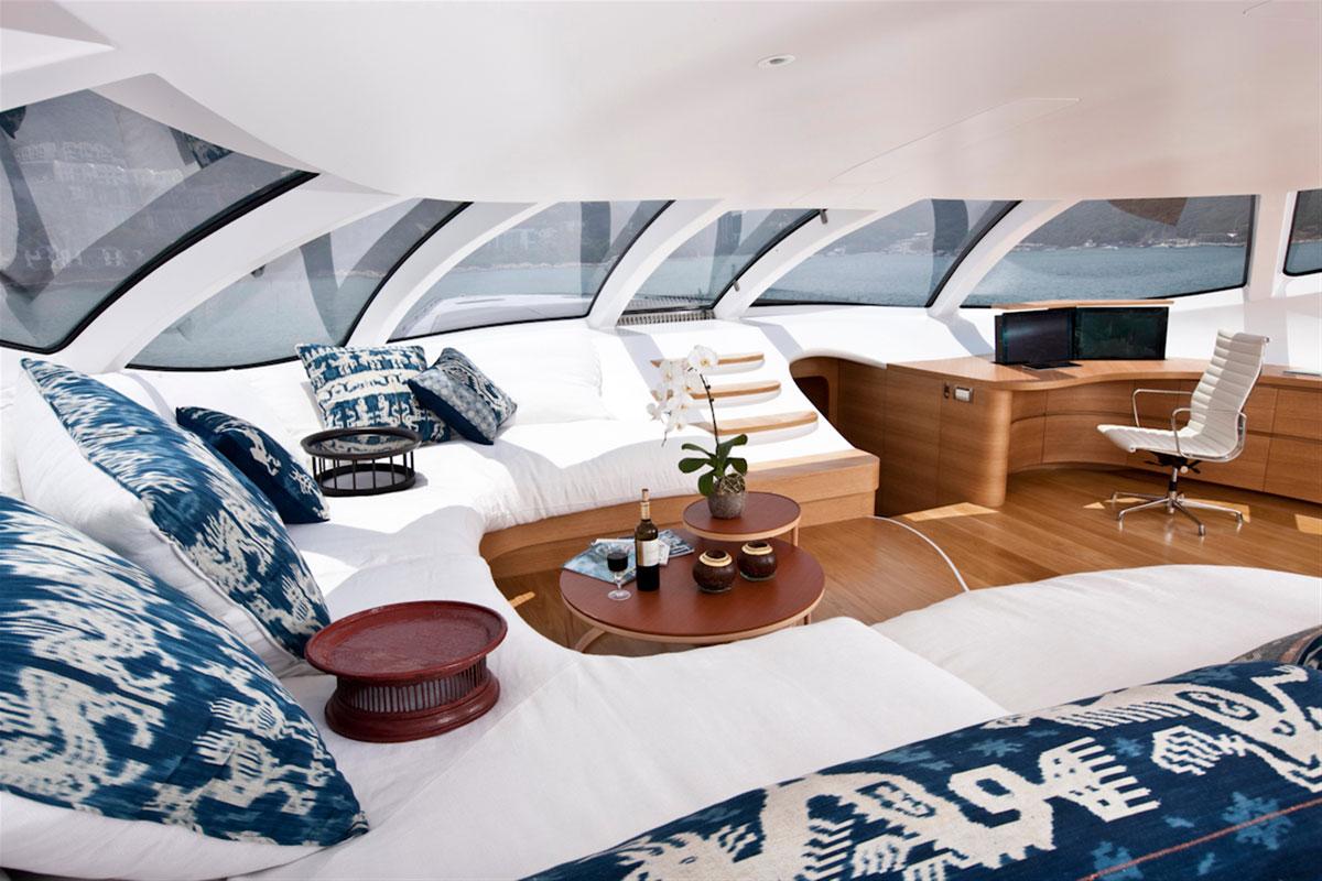 S per yate adastra entre el espacio y la mar vaya lujo for Interior yates de lujo