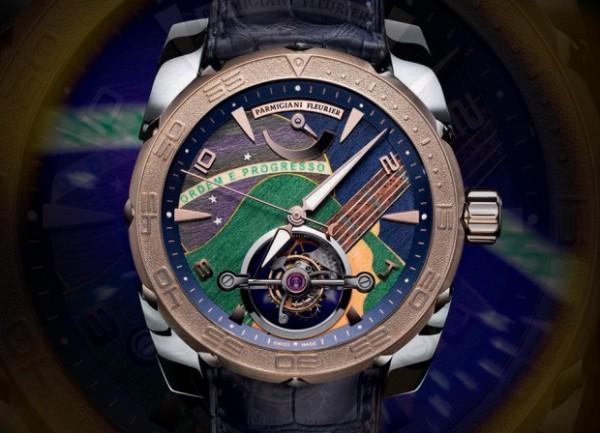Parmigiani-Fleurier-Pershing-Samba-Madeira-reloj-brasil