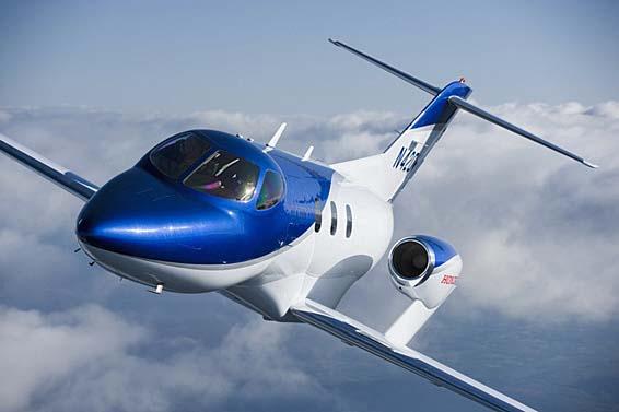 HondaJet, el avión privado más avanzado del mundo