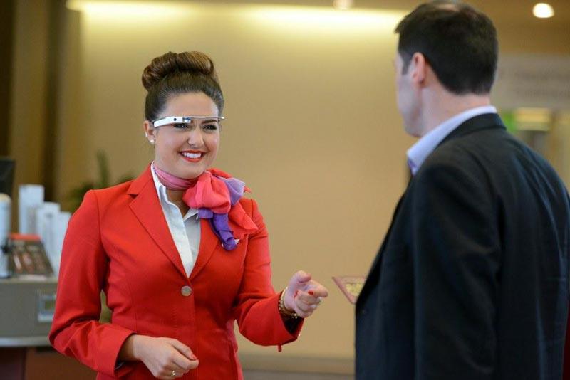 "Virgin Atlantic comienza a usar ""Google Glass"" para atender a sus pasajeros de primera clase"