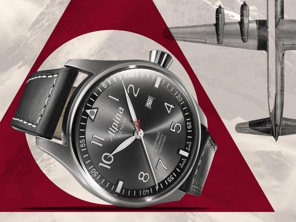 Startimer Pilot Sunstar, el nuevo reloj de Alpina que te va a seducir