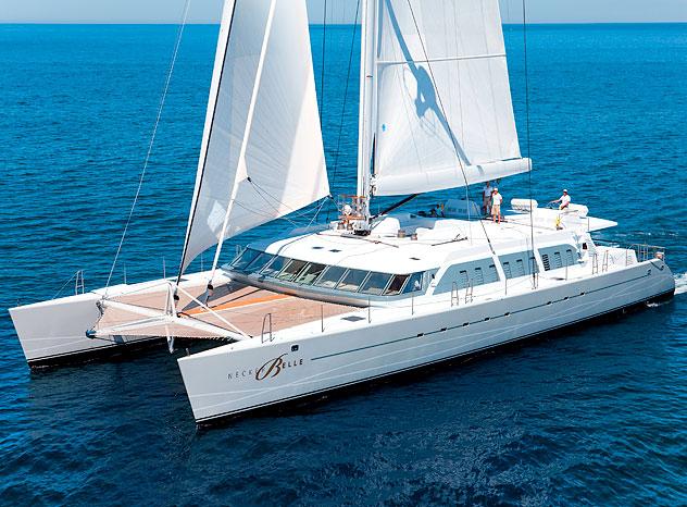"Richard Branson alquila su lujoso catamarán ""Necker Belle"""
