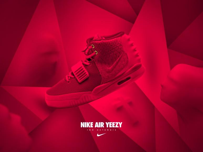 """Nike Air Yeezy II """"Red October"""": las nuevas zapatillas de Kanye West que se venden a millones en eBay"""