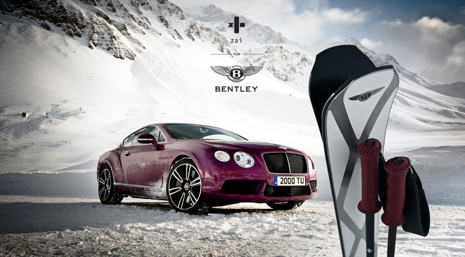 """Esquís """"Zai for Bentley"""", un capricho para la nieve"""