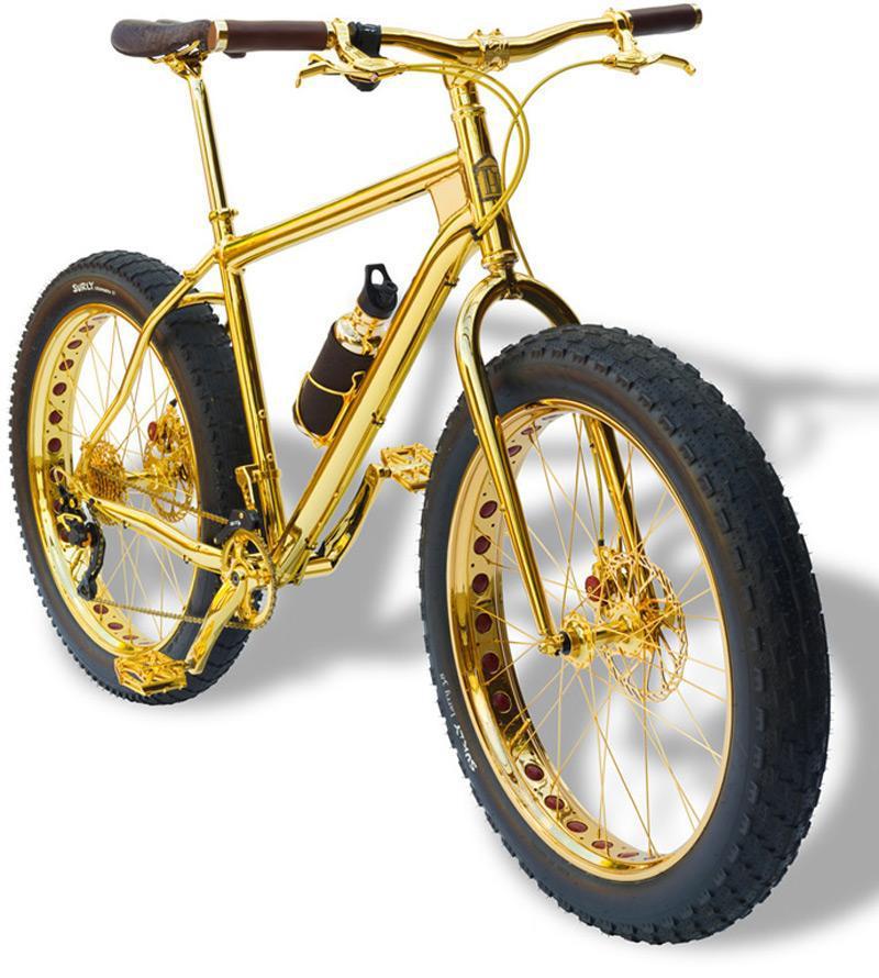 """Una """"mountain bike"""" de un millón de dólares"""