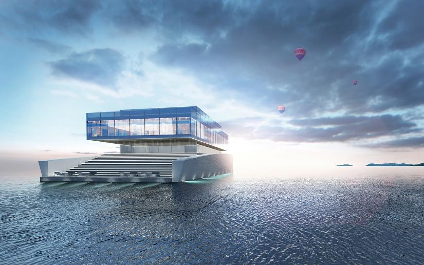 GLASS: un nuevo y espectacular concepto de Yate inspirado en los famosos rascacielos