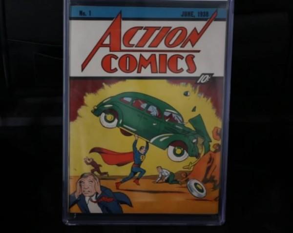 El Cómic de Superman más caro del mundo se vendió en e-Bay por 3,2 millones de dólares
