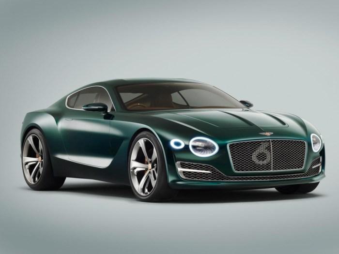 Bentley EXP 10 Speed 6 Concept: un biplaza de lujo