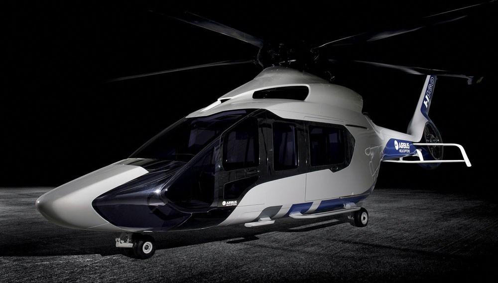 Airbus H160: un Helicóptero de Lujo con diseño Futurista