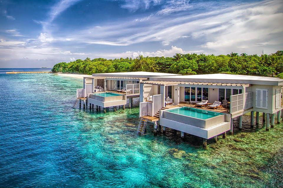 Amilla fushi un impresionante resort de lujo en las islas for El mejor hotel de islas maldivas