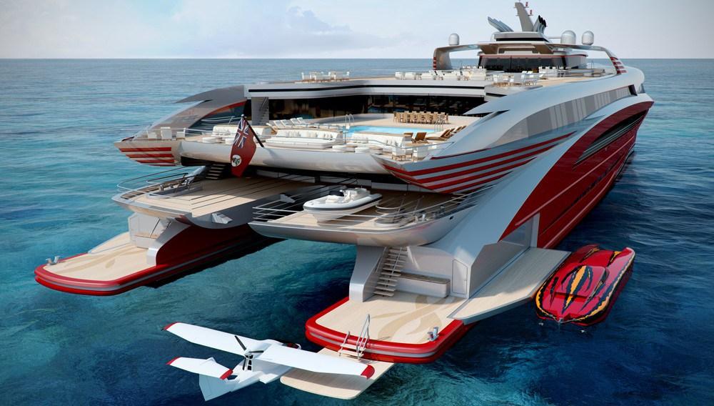 ModCat Project L3: un nuevo Concepto de Catamarán de Lujo