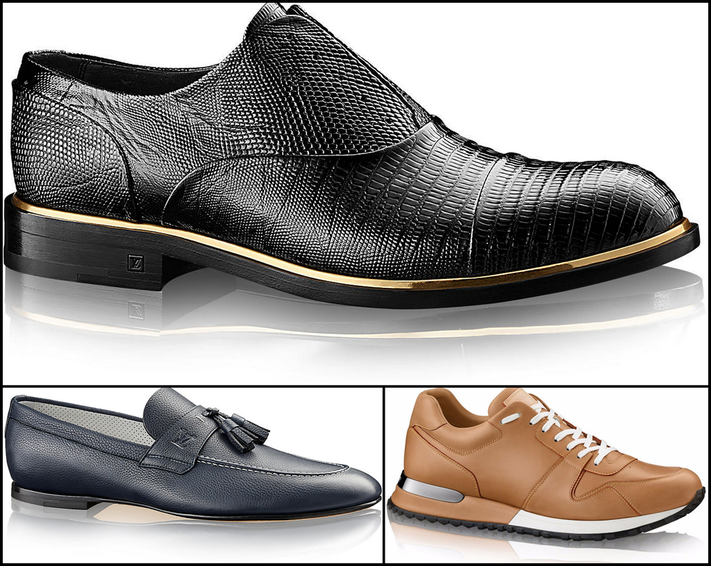 """d68ada1de0 Nueva línea de Calzado Masculino """"Primavera 2015"""" de Louis Vuitton"""
