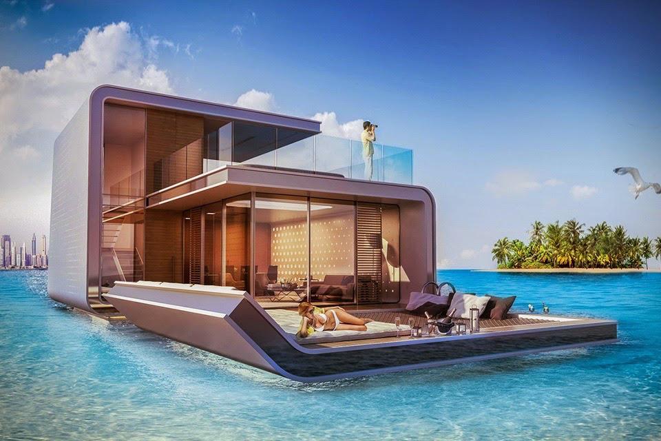 The floating seahorse una lujosa casa sobre el mar - Casas en el mar ...