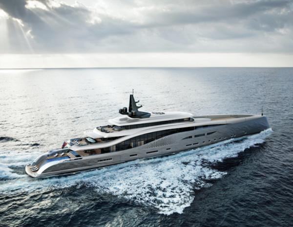 Oceanco Stiletto, un Lujoso S�per Yate de seis cubiertas