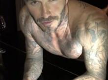 """David Beckham acepta el reto de las 22 """"push-up"""""""