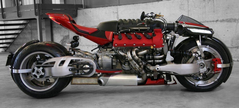 Lazareth LM 847: la súper moto con un motor Maserati de 8 cilindros