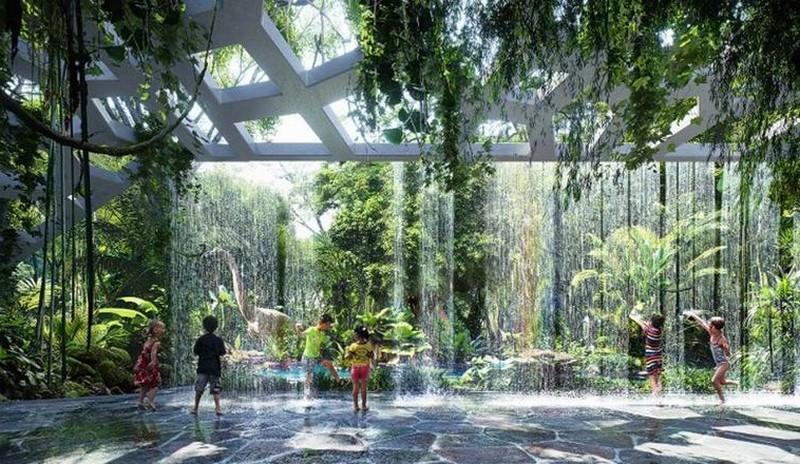 The Rosemont Hotel & Residences: el primer hotel del mundo con su propia selva tropical