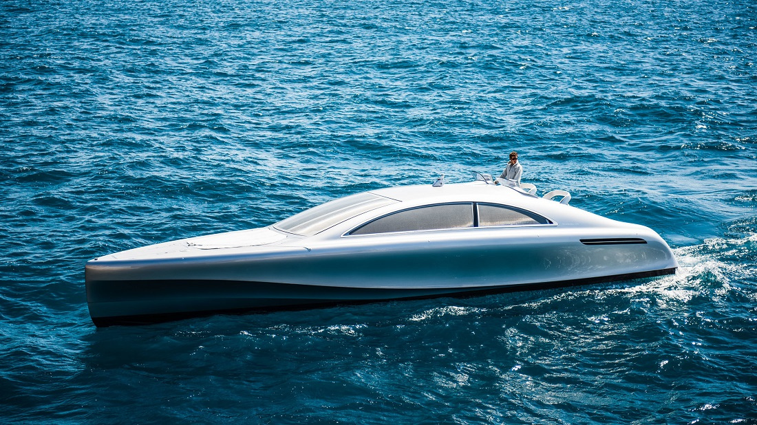 ARROW460 Granturismo: el primer Yate de Lujo de Mercedes-Benz