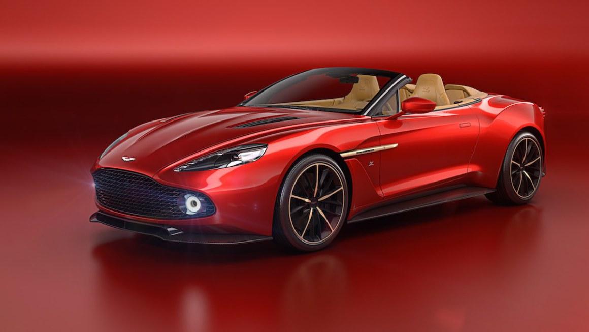 Aston Martin Vanquish Zagato Volante: más que un descapotable, una obra de arte