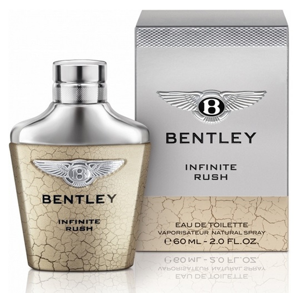 Infinite Rush: la nueva fragancia de Bentley