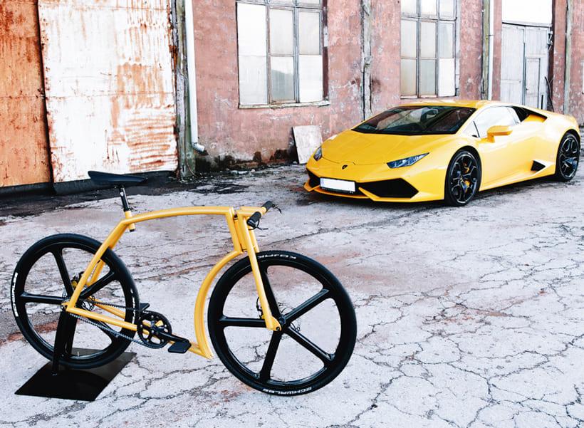 Viks GT: la bicicleta inspirada en un súper deportivo Lamborghini