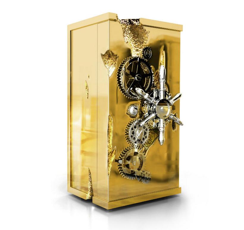Millionaire Safe: la caja de seguridad recubierta de oro