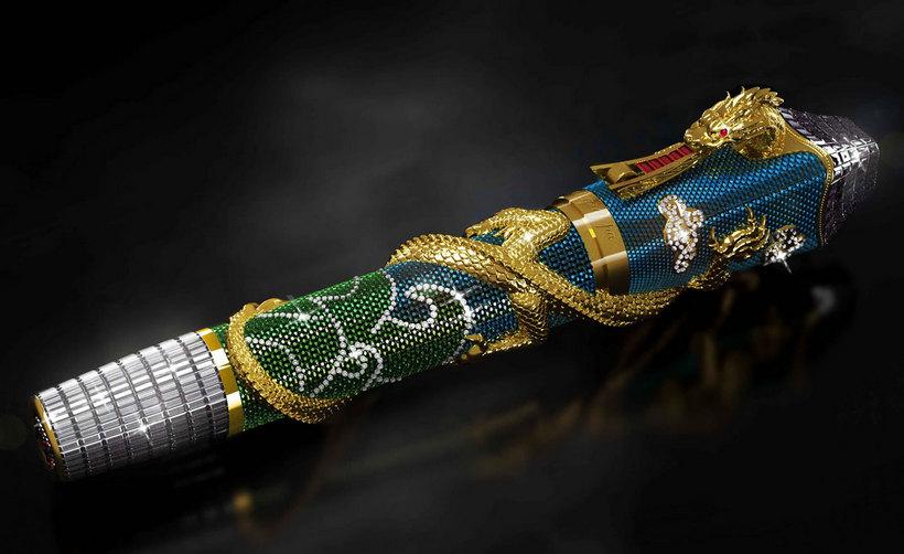 Ultimate Centennial Dragon: la espectacular pluma del millón de dólares