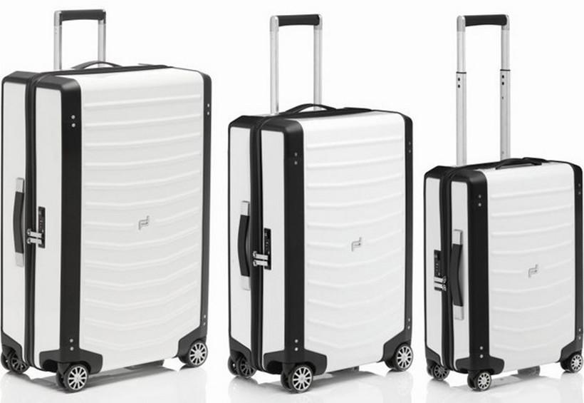Roadster Hardcase: la exclusiva colección de maletas con estilo Porsche