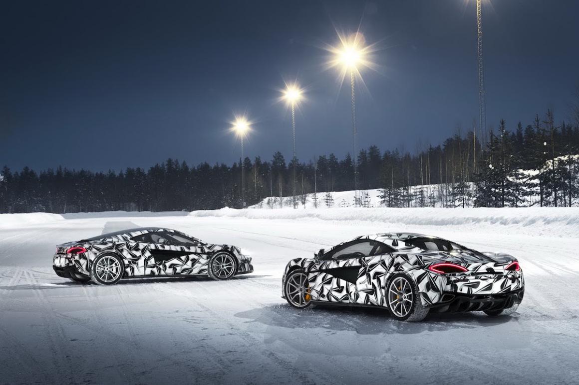 Pure McLaren Arctic Experience: un espectacular curso de conducción sobre hielo