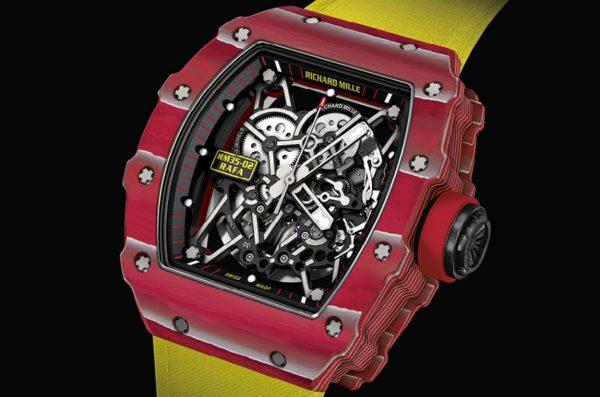 Richard Mille RM 35-02: el exclusivo reloj de Rafael Nadal