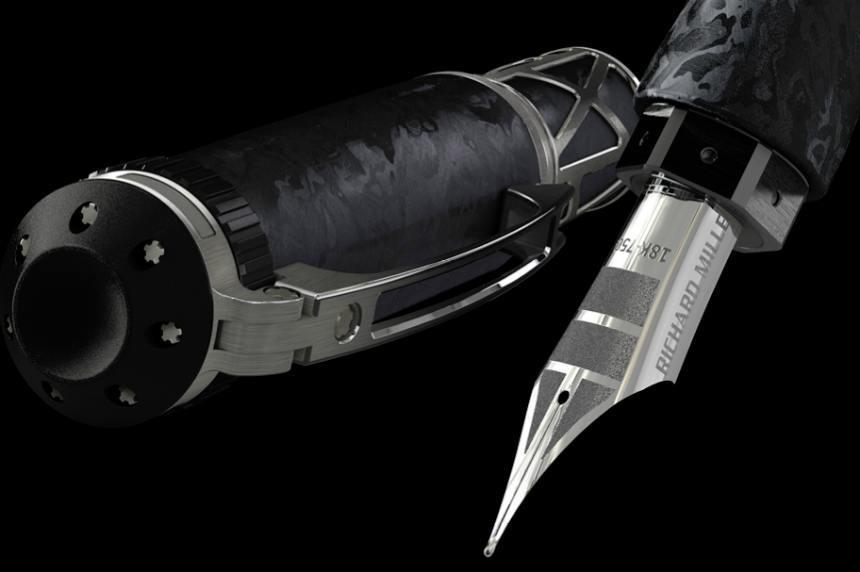 Richard Mille RMS05: la estilográfica mecánica solo para sibaritas