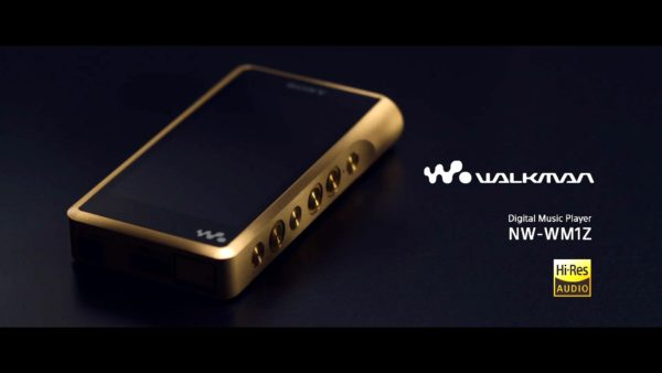 Walkman NW-WM1Z: el reproductor de Sony bañado en oro y con audio de alta resolución