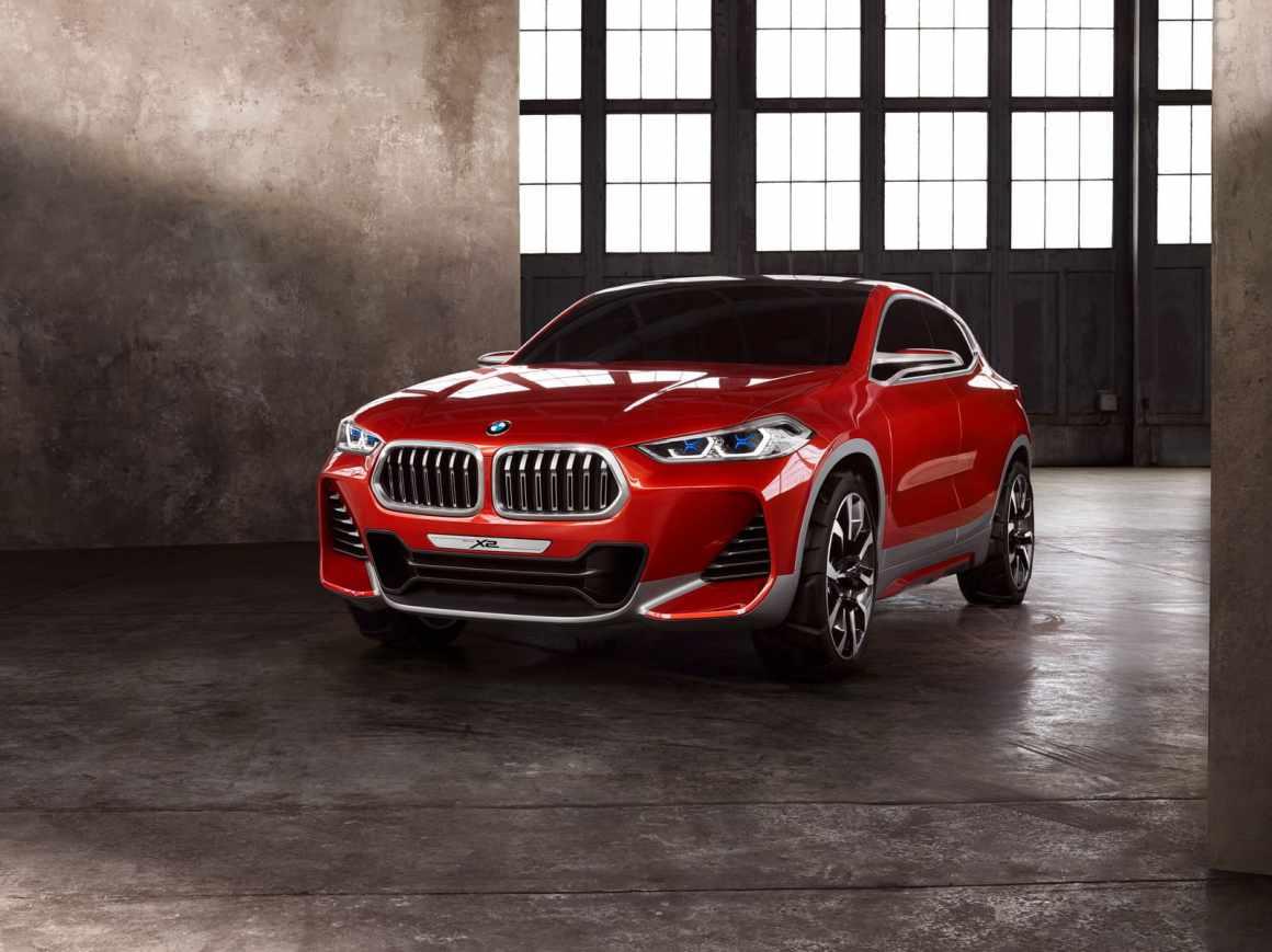 BMW X2 Concept: un todocaminos con forma de coupé