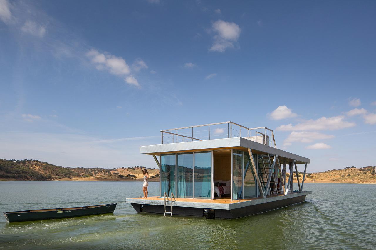 Floatwing: una casa flotante para los amantes de la aventura