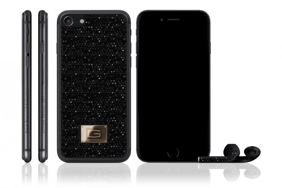 Un iPhone 7 con incrustaciones de diamantes que cuesta 500.000 dólares