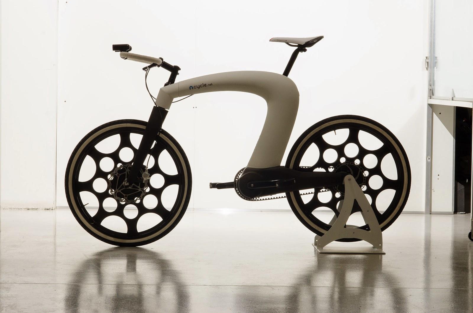 nCycle: la bicicleta eléctrica que se pliega