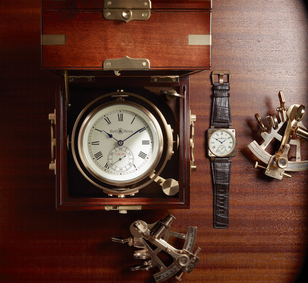 Instrument de Marine: la nueva colección de relojes de lujo de Bell & Ross