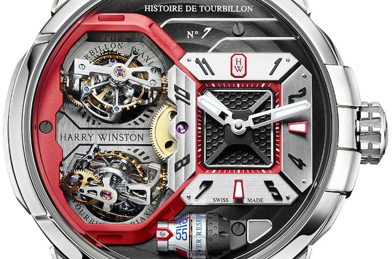 Harry Winston Histoire de Tourbillon 7: un fantástico reloj con dos Tourbillones Bi-axiales