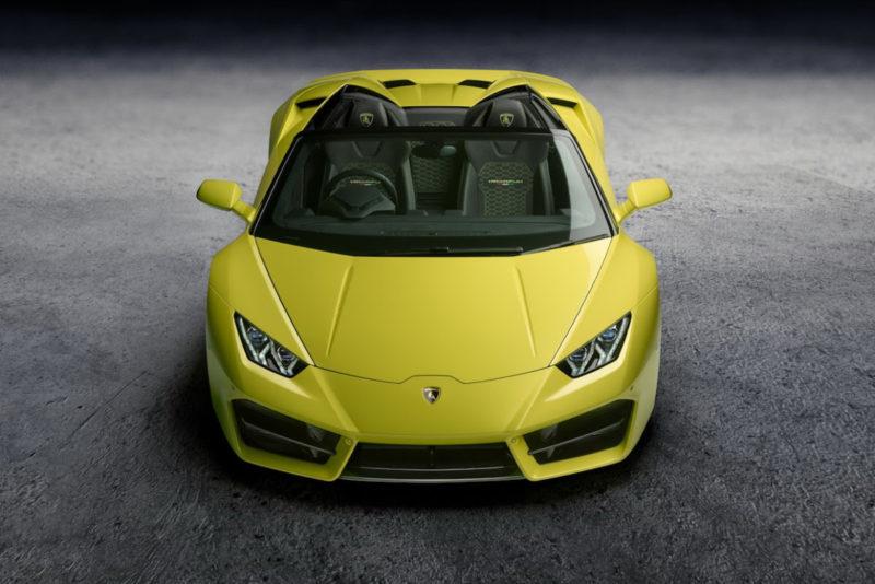 Lamborghini presenta el nuevo Huracán Spyder LP580-2 en el Salón del Automóvil de Los Ángeles 2016
