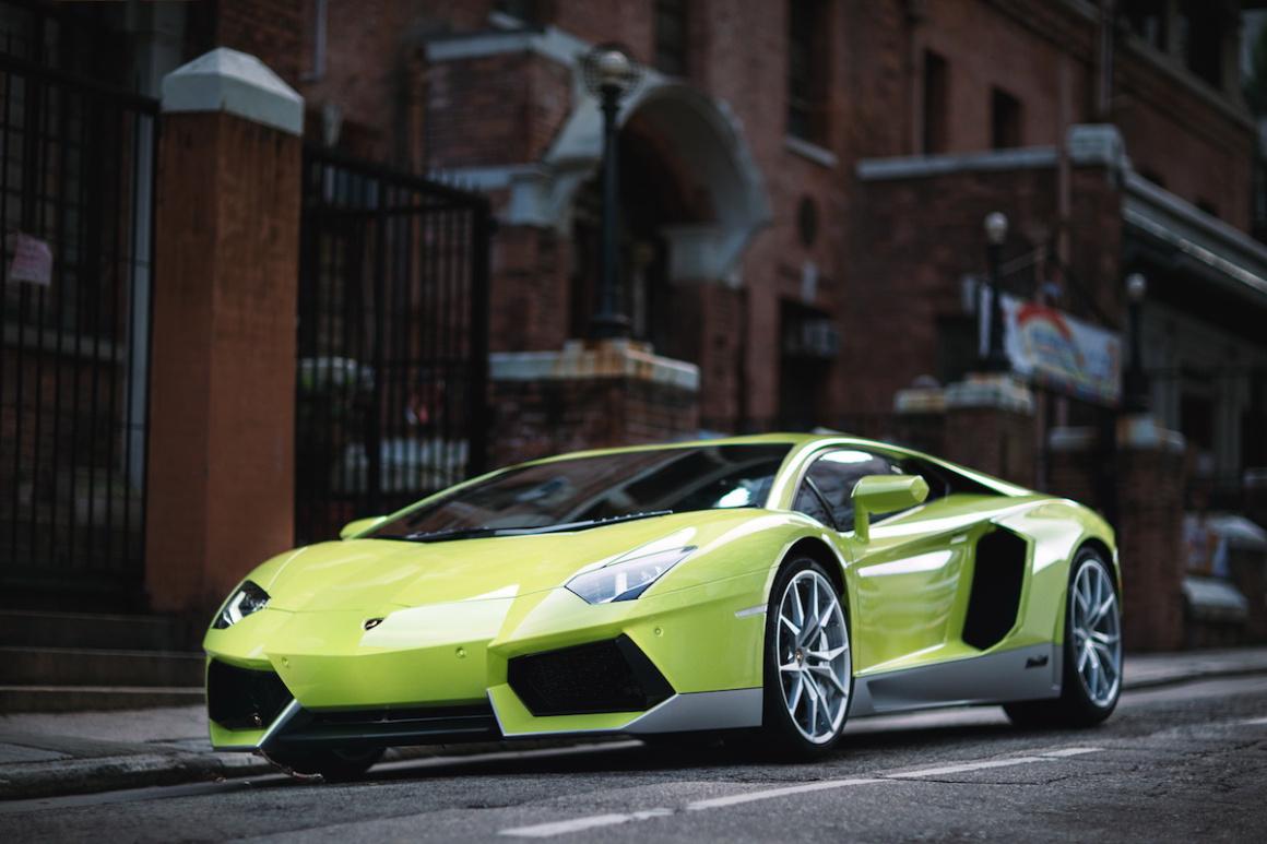 """Lamborghini Aventador Miura Homage, ahora en color """"Verde Scandal"""""""