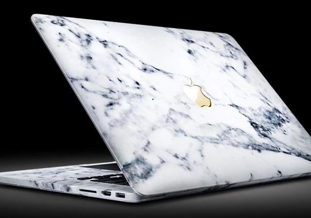 Marble: una MacBook Pro de mármol y oro de 24K