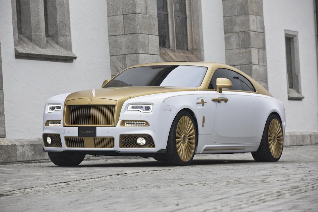 Palm Edition 999: la nueva versión dorada del Rolls-Royce Wraith