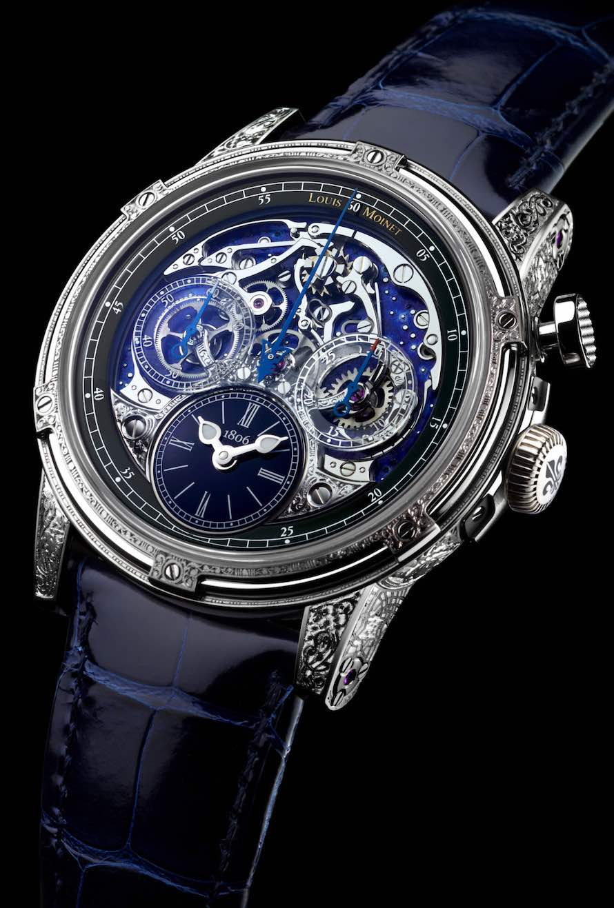 Memoris Red Eclipse: un homenaje a Louis Moinet