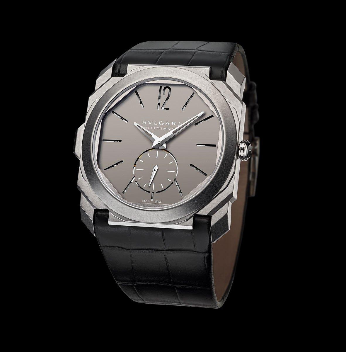 Bulgari OCTO Finissimo Minute Repeater: el reloj más delgado del mundo