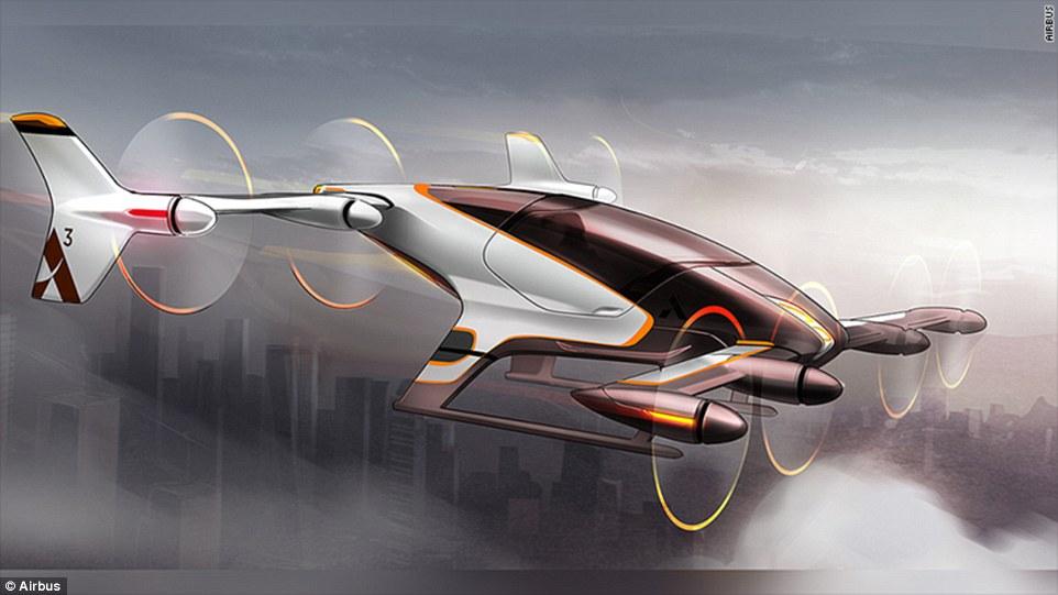 Proyecto Vahana: el futurista taxi volador de Airbus