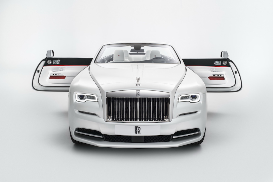 Rolls-Royce Dawn Inspired by Fashion: un descapotable para ir a a la última