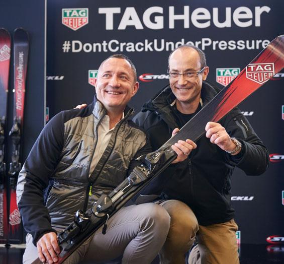 TAG Heuer y Stöckli se unen para crear unos esquís únicos