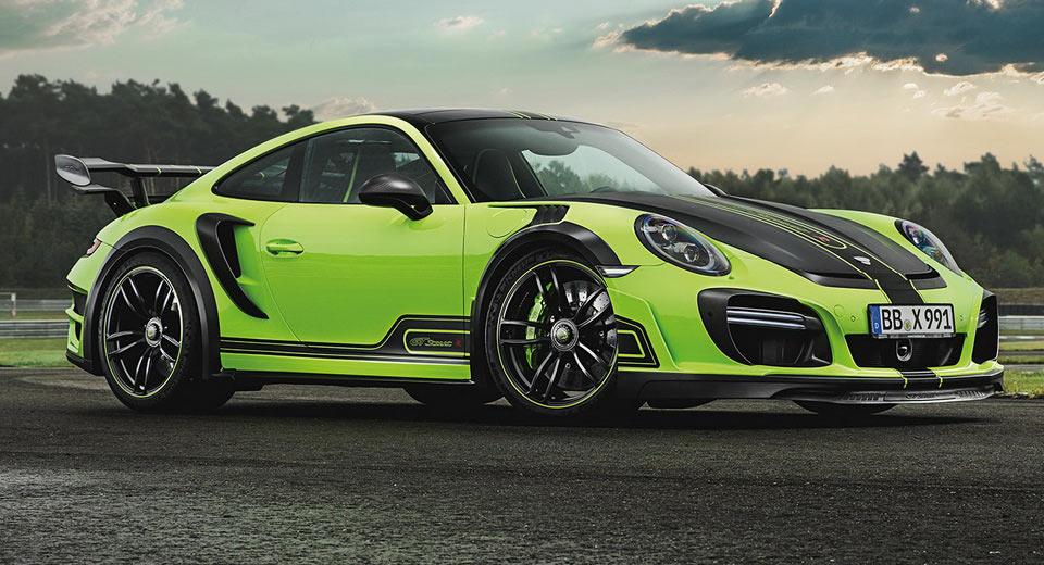 Techart 911 Turbo GTstreet R: un superdeportivo en color verde