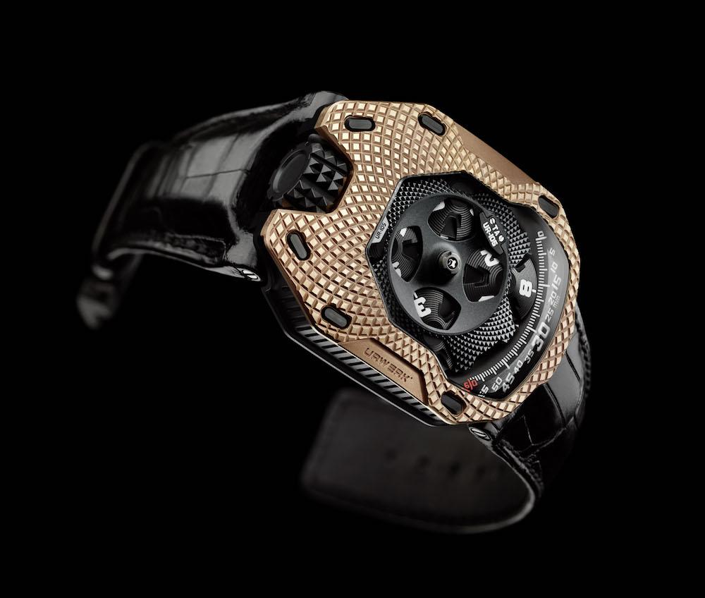 Urwerk UR-105 TA Raging Gold: pasión por el oro